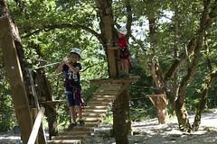 Accrobranche (Tourisme Argences en Aubrac Aveyron) Tags: accrobranche argence argencesenaubrac stegenevièvesurargence aubrac aveyron