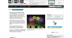 Photograph Fireworks - Wired How-To Wiki_1246635306549