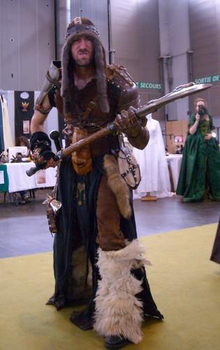 Medieval fantasy roll gamer