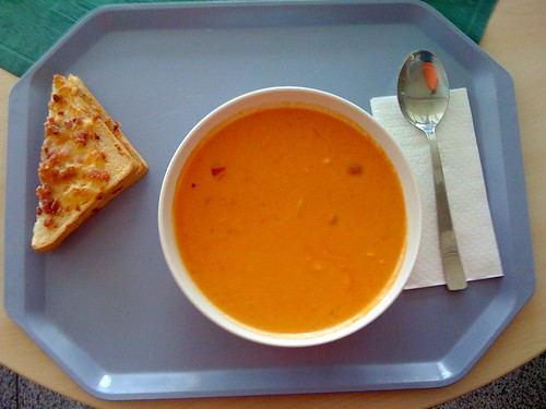 Tomatencreme-Kokos-Suppe