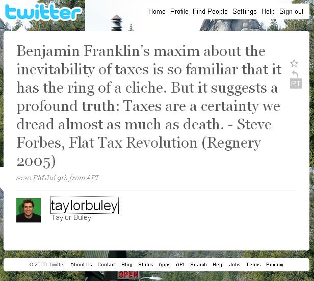 Thumb El tweet más largo de la historia de 247 caracteres