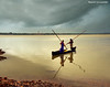 Balanced Under The Storm Front ......coming (Ragstatic) Tags: travel light sunset sea sky india holiday color reflection water silhouette clouds river relax boat google interesting nikon exposure heaven earth rags rustic charm explore monsoon nostalgic leisure lonelyplanet karnataka nationalgeographic relevant kundapur kundapura d700 lpfloating