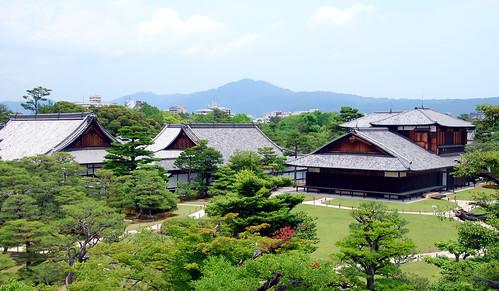 nijo-jo complex, kyoto