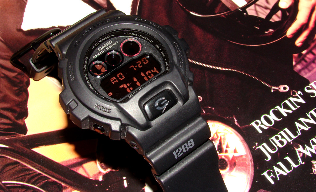 Casio DW6900MS-1 G-Shock Military Watch