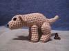 Pooping Dog 1 (spsandsteel) Tags: dog puppy crochet dump crap poop doggy poo amigurumi doggies pooping doodoo