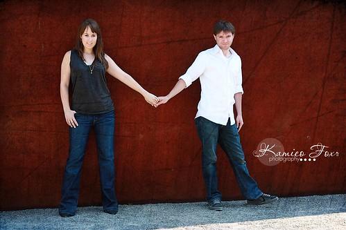 Sneak Peak  {J & J Engagement}