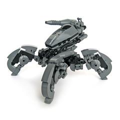 Himitsu - Recon Runner (Fredoichi) Tags: robot lego space mecha mech fredoichi mutltiped