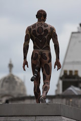 cat man on 4th plinth (Don McDougall) Tags: london cat feline trafalgar trafalgarsquare 100views 100 fourth plinth catman fourthplinth mcdougall donmcdougall