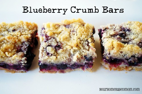 Blueberry crumb bars - Page 341