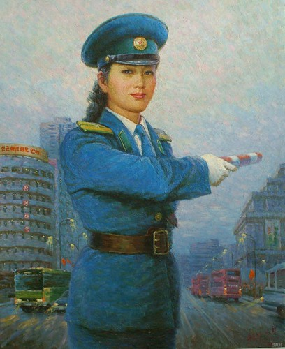 Traffic Policewomen Paintings - Art from North Korea 3822949040_32f2db9a84