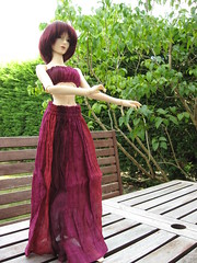 I like how she poses (sydneyfan2001) Tags: bjd amelia volks sd16
