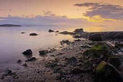 Daybreak (Stuart Stevenson) Tags: longexposure sea summer sky seascape sunrise canon outdoors scotland edinburgh canon300d tide naturallight stuart forth f22 colourful 18mm cramond 25secs stuartstevenson stuartstevenson