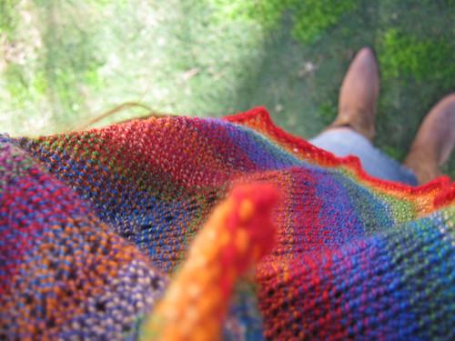 shawl boots