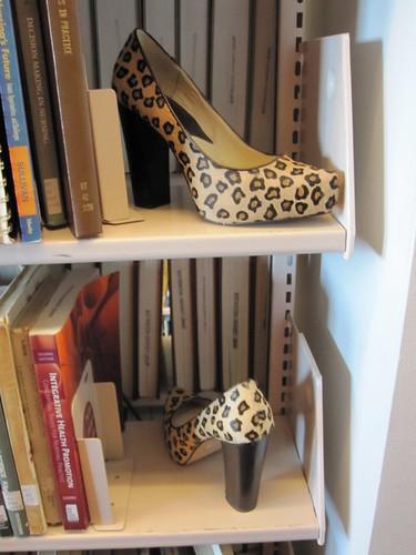 michael  kors leopard platforms