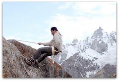 Bilal Fazal, during laila peak trek (TARIQ HAMEED SULEMANI) Tags: travel tourism trekking village hiking north bilal tariq valleys northernpakistan skardu maclu khaplu concordians sulemani kanday lailapeaktrek hyshy