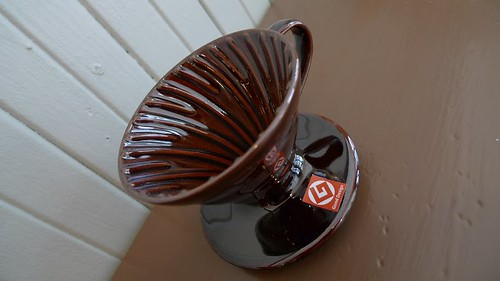 The brown v60 1 cupper