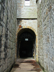 The Entrance To Castle Rushen, Castletown, Isle Of Man.