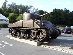 Sherman Tank @ Omaha Beach Museum Photo