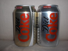 Diet Coke (Like_the_Grand_Canyon) Tags: soft drink beverage can pop soda cans fizzy