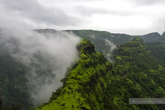 . . . . (soumitra911) Tags: road trip mountain green clouds stuck maharashtra around pune kokan naturesfinest raigad mahad bhor soumitra shivtharghal inamdar warandha soumitra911 kaavla manmohangad