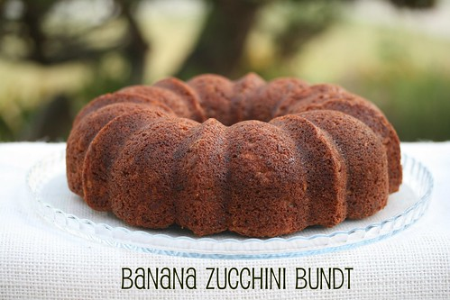 Zucchini Banana Bundt - Food Librarian