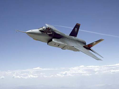 Top Active USAF Fighter Jets F-35 Lightning II