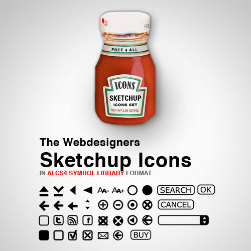 The Webdesigner Sketchup Icons