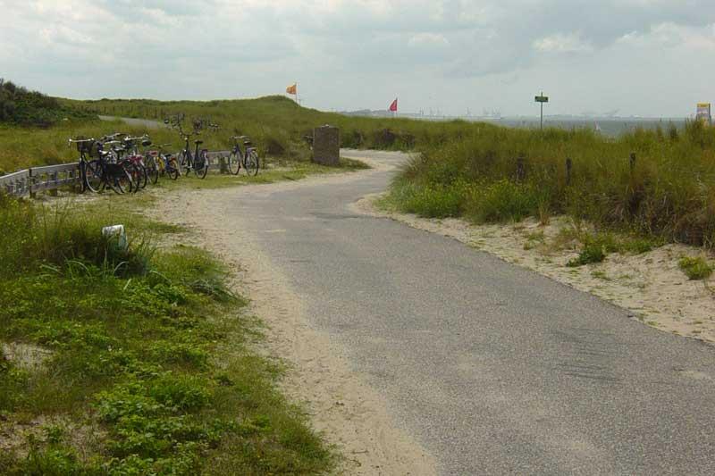 Nieuw duinfietspad tussen Kijkduin en Hoek van Holland