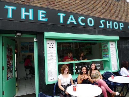 the taco shop in amsterdam