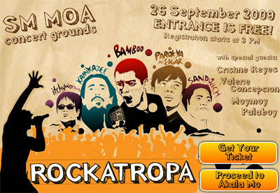 philippine events akala_mo rockatropa concert free