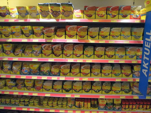 Wide Variety of Maggie Sauces!