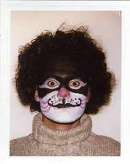 Cat Scouser (Luke Stephenson) Tags: face cat hair paint wig scouser