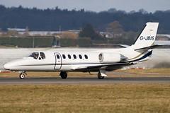 G-JBIS - Private - Cessna 550 Citation II - Luton - 090213 - Steven Gray - IMG_9191