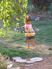 Different cropping on littlest hoop girl