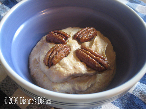 Pumpkin Mousse With Honeyed Sugar Pecans
