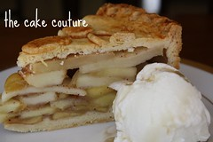 55. Apple Pie (slice) (The Cake Couture (is currently not taking any orde) Tags: apple pie doha qatar                thecakecouture