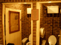 Ladies toilets at Johnnie Fox's