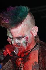 Demented are go! (sensaos) Tags: portrait music rock fetish de concert punk suspension retrato live go kade saints bdsm psycho horror roll mad portret burlesque ritratto 2009 alternative hooks zaandam demented psychobilly freakshow subculture rockn 肖像画 goresque madsaints