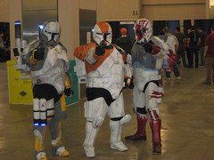 VGE 009 (Evil Benius) Tags: boss starwars costume cosplay sev scorch 501stlegion republiccommando galacticempire garrisoncarida deltasquad philadelphiavideogameexpo