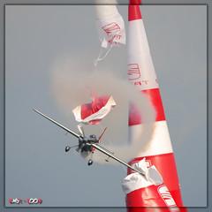Hannes Arch #28 (Laurent CLUZEL) Tags: barcelona red race hannes hit nikon arch air sigma bull pylon d200 2009 80400