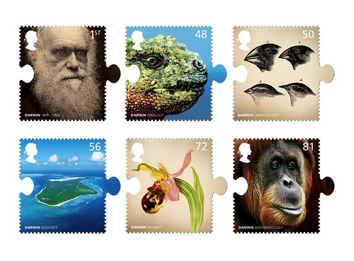 Hat-trick - Darwin Stamps