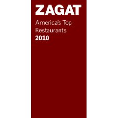 Zagat America's Top Restaurants 2010 is on the 10 Must Have Princess Dominique Favorite Things of 2009