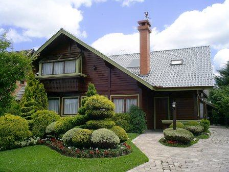 modelo de casa de madeira
