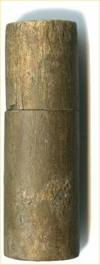 Russian wooden phial
