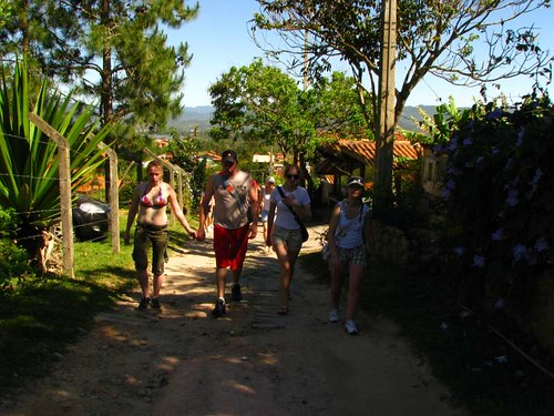 caminho para praia do Rosa 1