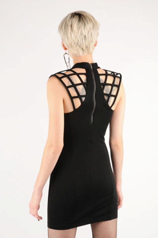Funktional caged dress 3