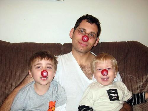 My three clowns