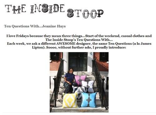 the inside stoop
