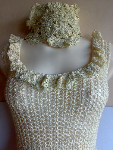 crochet dress wedding