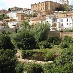 Cáceres: alzado este huertas